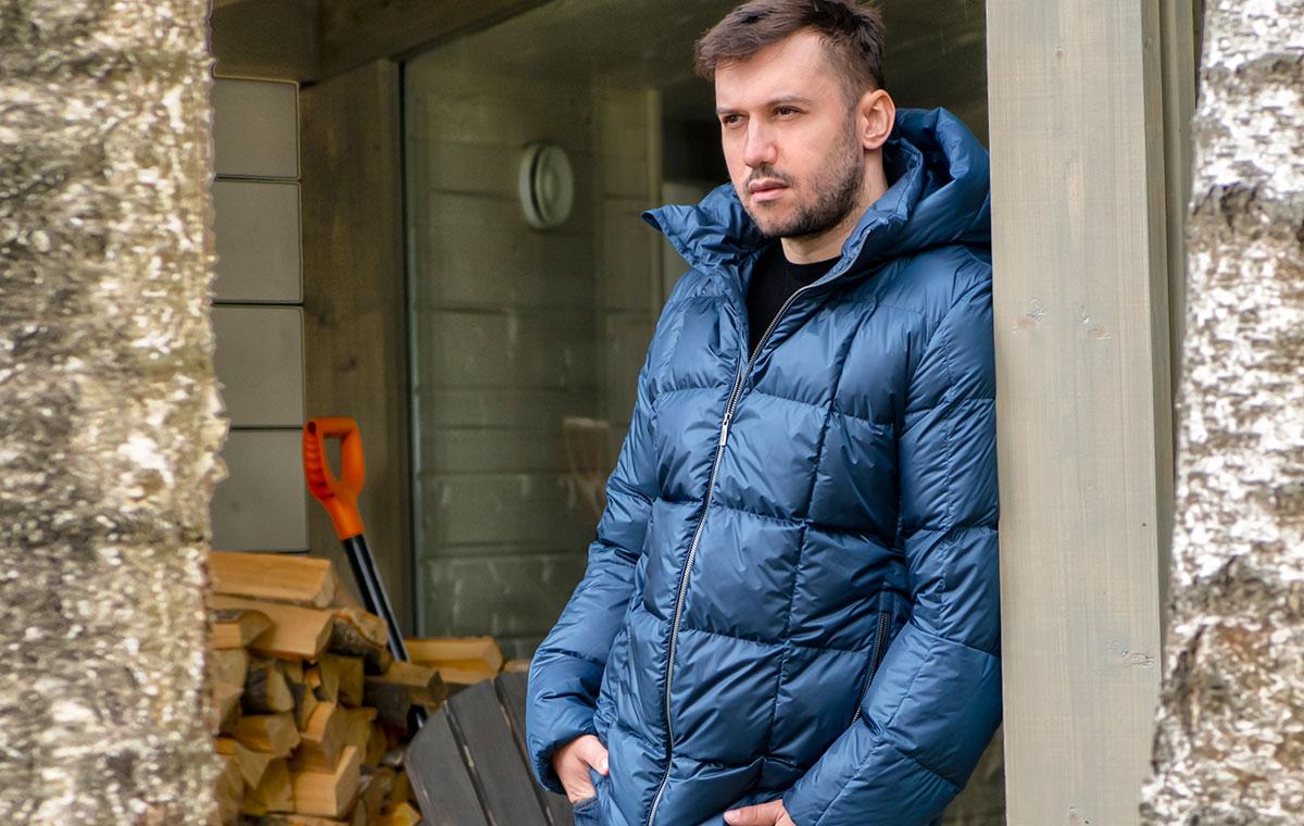Osma – демисезонная пуховая куртка финского бренда Joutsen