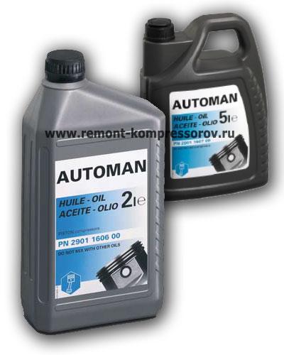 Компрессорное масло Atlas Copco Automan Fluid