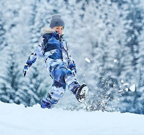 Комбинезон Molo Polaris Fur Arctic Landscape купить выгодно в интернет-магазине Мама Любит!