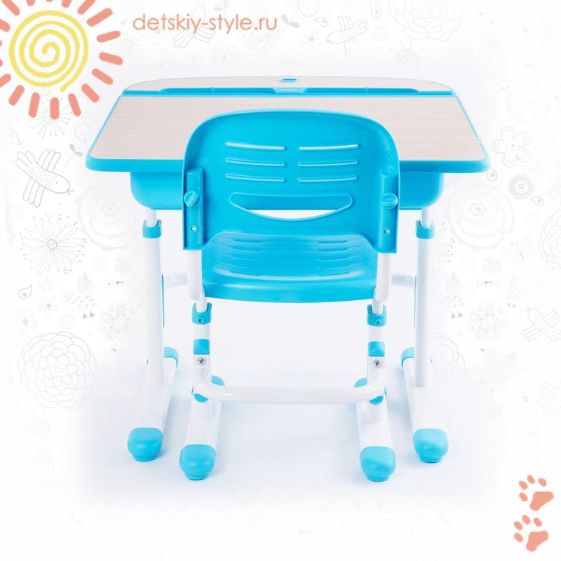 парта fundesk capri, комплект, купить, цена, стол со стулом, детская парта фандеск капри со стулом, дешево, отзывы, заказать, бесплатная доставка, интернет магазин, доставка по москве, стоимость, заказ, официальный дилер, detskiy-style.ru