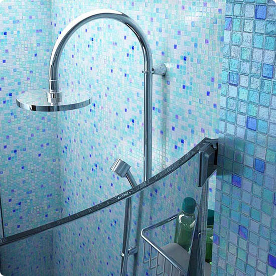 Мозаика для душевой и ванной комнаты