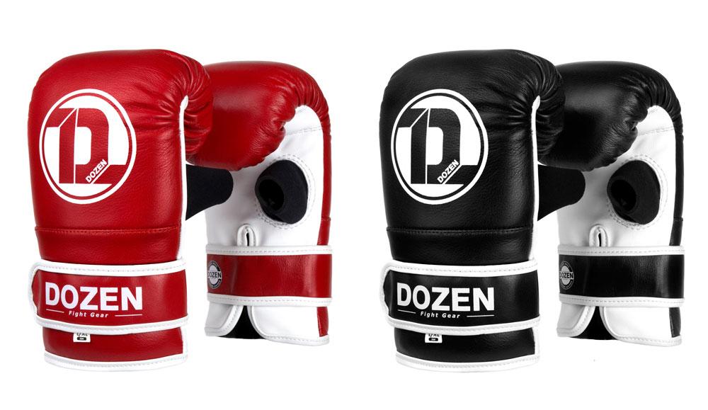 Снарядные перчаткик Dozen Fight Gear линейка цветов