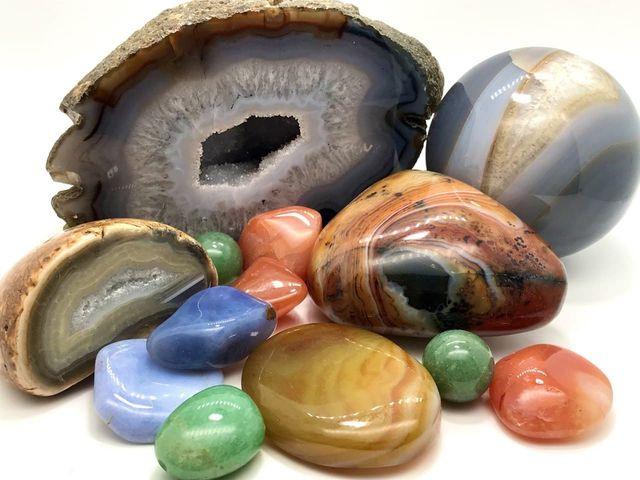 Натуральный камень Агат - фото