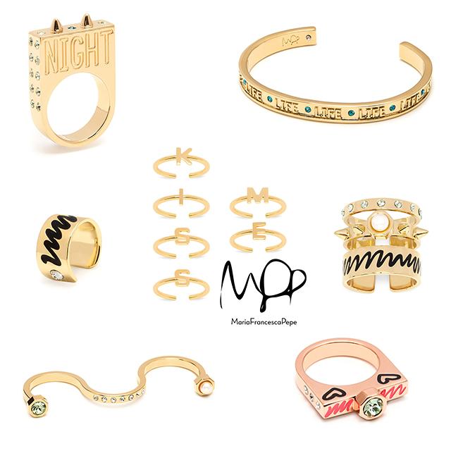 стильные украшения от итальянского бренда Maria Francesca Pepe