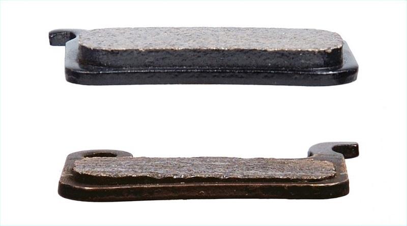 new vs old brake pads