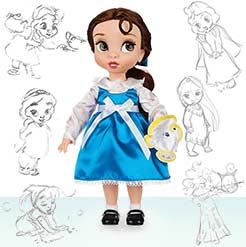 маленькая кукла Белль - серия Красавица и Чудовище
