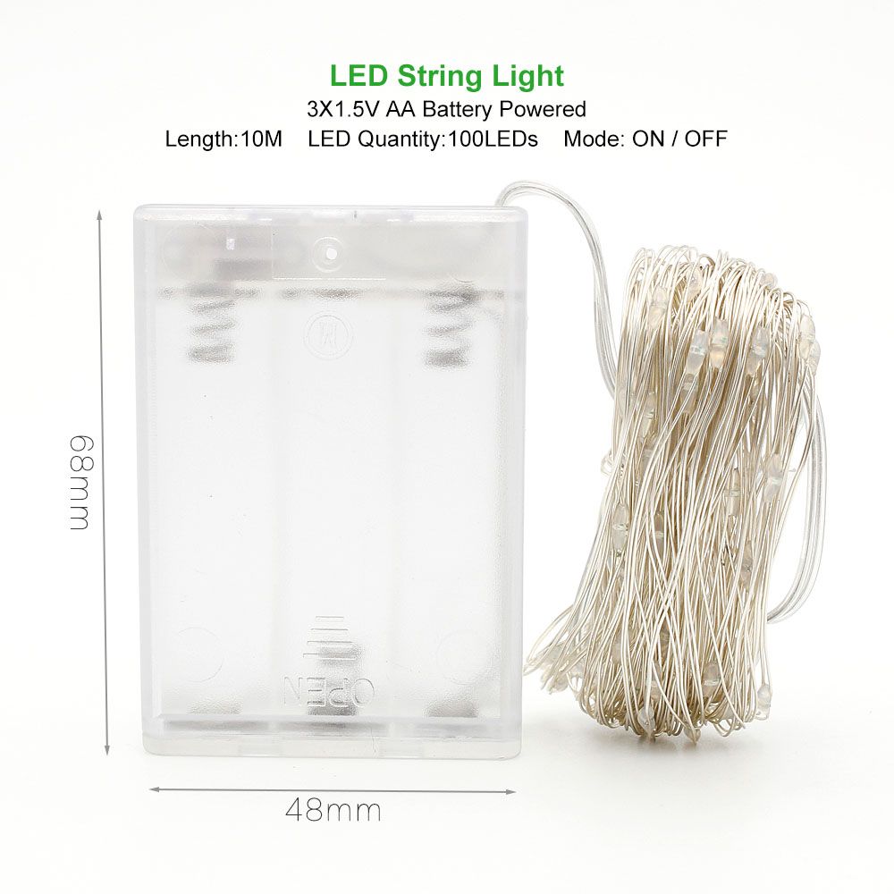 гирлянда лед светодиодная LED проволока лед