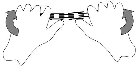 Тест бокового изгиба цепи