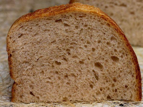 Серый хлеб без глютена