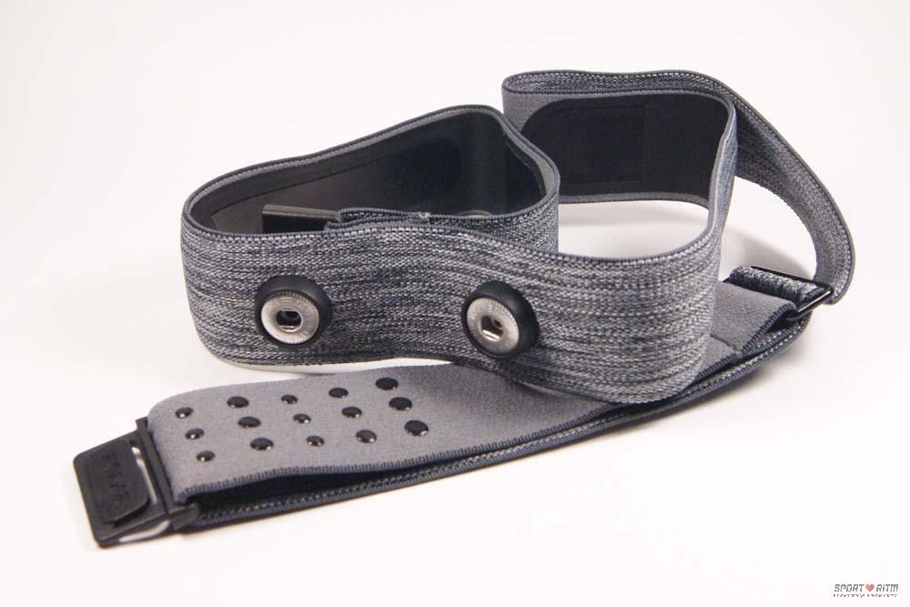 Ремешок для Polar H10 серого цвета