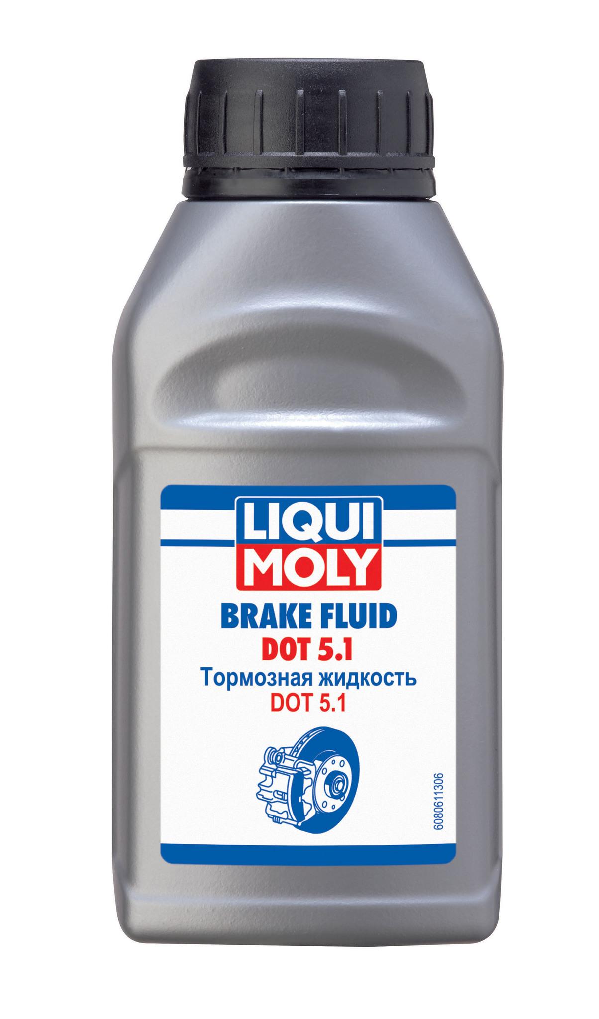 Liqui Moly DOT 5.1 тормозная жидкость