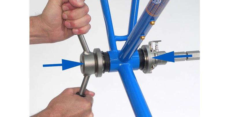 Запресовка каретки press fit