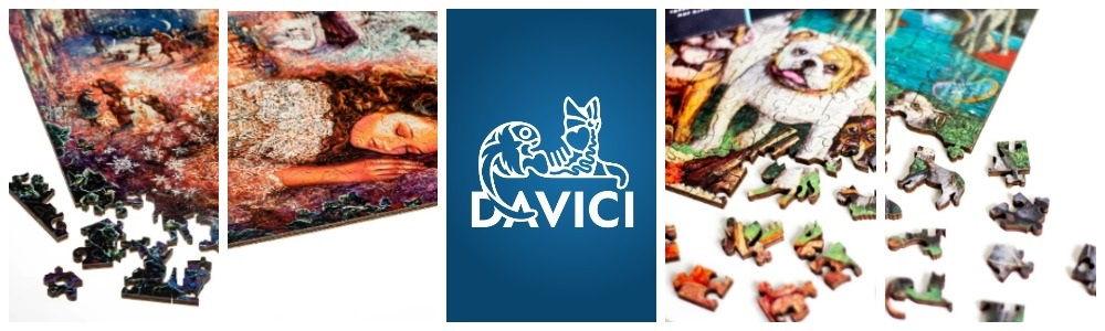 Davici - пазлы причудливой формы