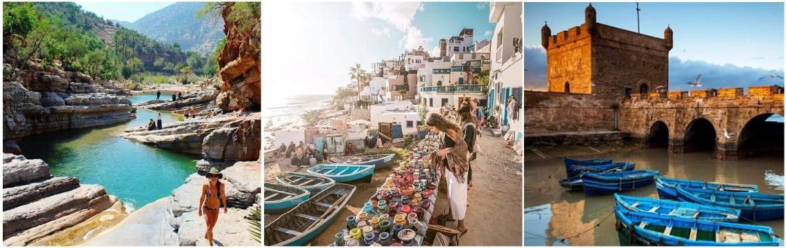 Серф-кемп и путешествия Марокко