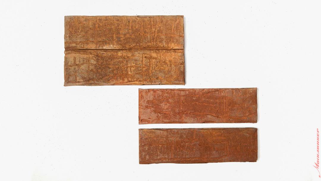 Сдвоенная клинкерная плитка формата NF