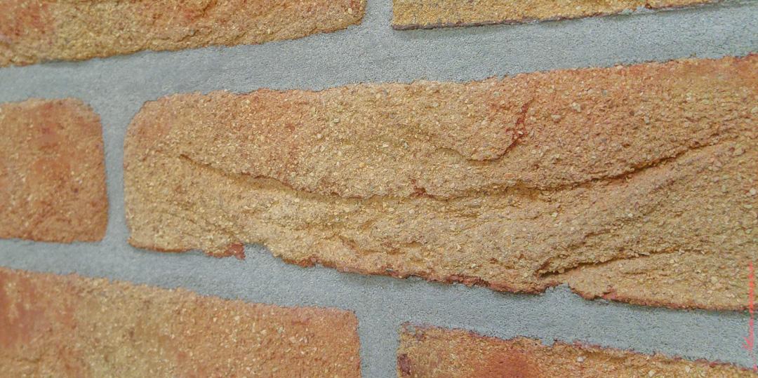 Кладка клинкерной плитки под состаренный кирпич