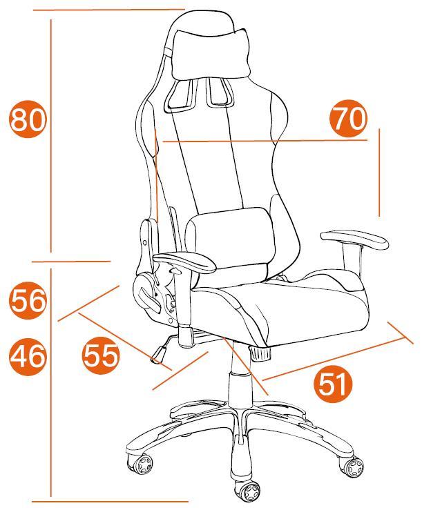 Размеры Кресла iGear