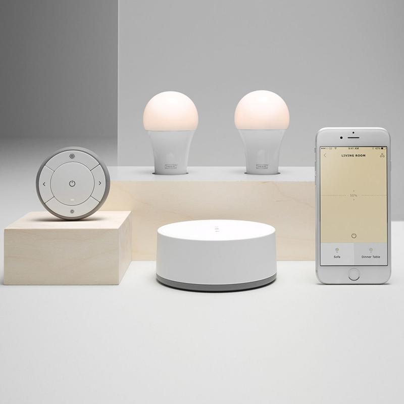 Светильники Tradfri от IKEA