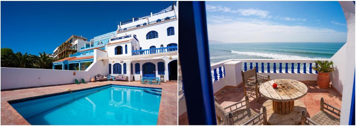 Вилла на океане в Марокко