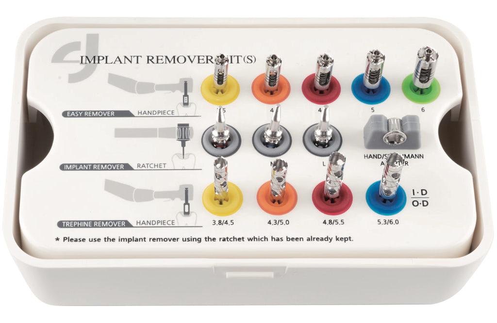 Набор для удаления имплантов (S)