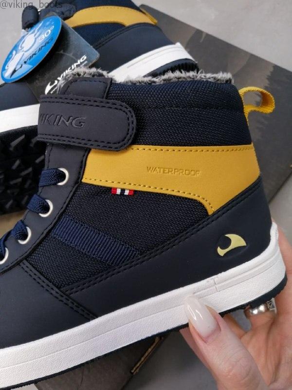 Зимние ботинки Viking Jack GTX Jr Navy/Navy