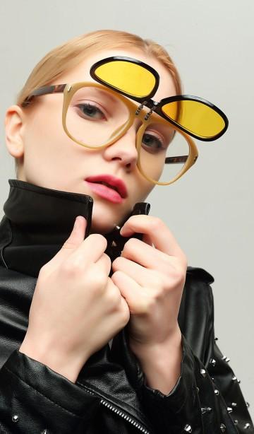 очки с двойной оправой