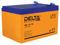 Герметичный свинцово-кислотный аккумулятор Delta HRL 12-12