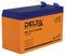 Герметичный свинцово-кислотный аккумулятор Delta HRL 12-9 (1234W)