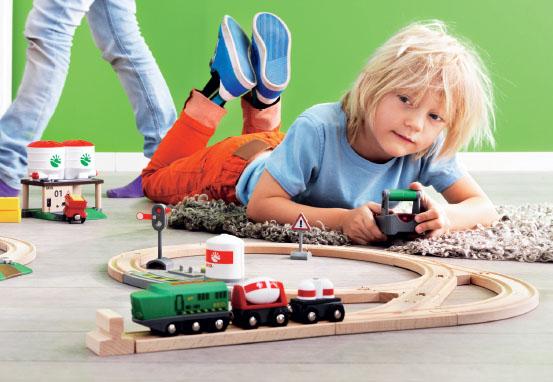 деревянная железная дорога brio