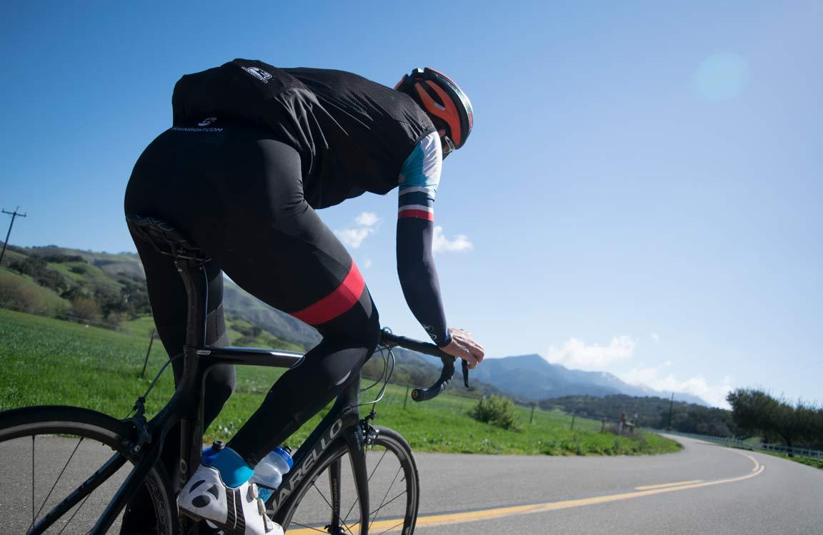 Велосипедист - учасник змагань