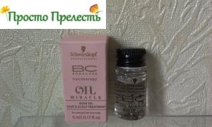 Schwarzkopf BONACURE Oil Miracle Rose