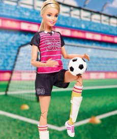 """Кукла Барби """"Безграничные движения"""" - Футболистка"""