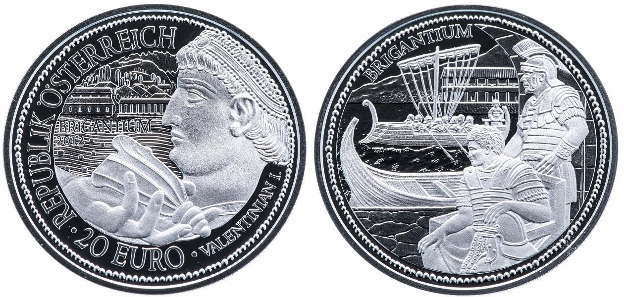 20 евро Бригантиум 2012