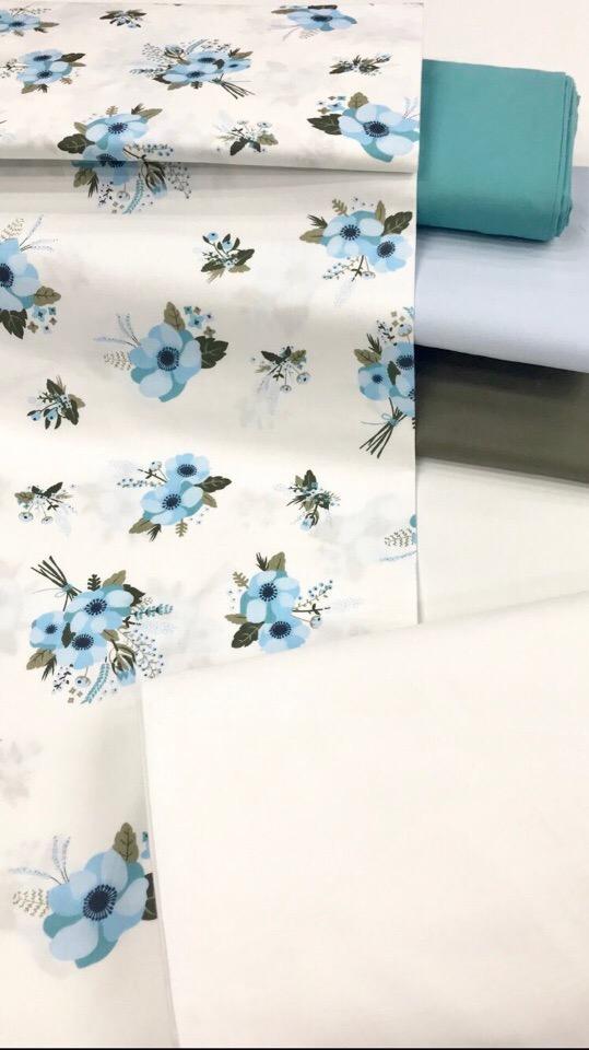 Ткань хлопок для домашнего рукоделия и шитья