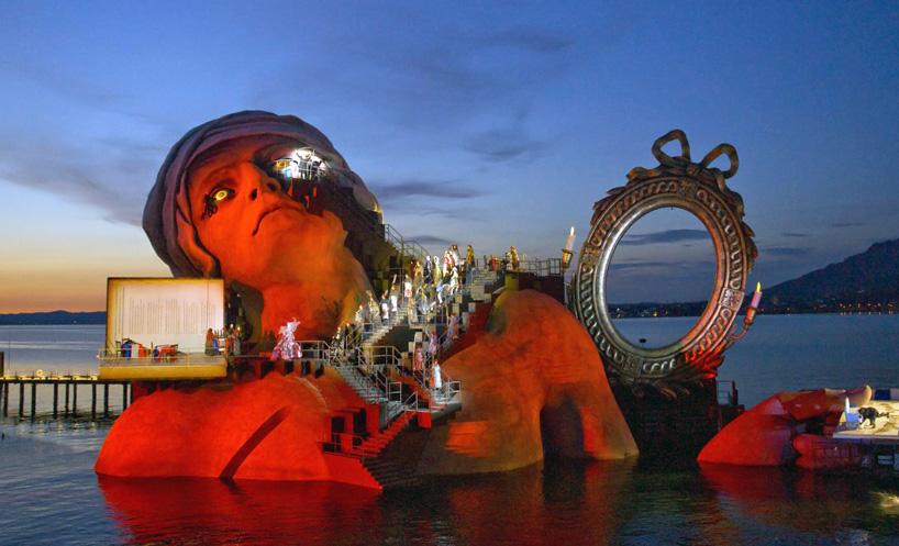 Декорация на Боденском озере.