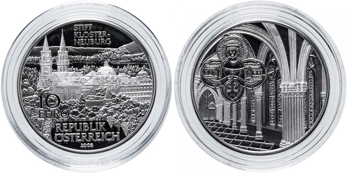 10 евро Монастырь Клостернойбург 2008