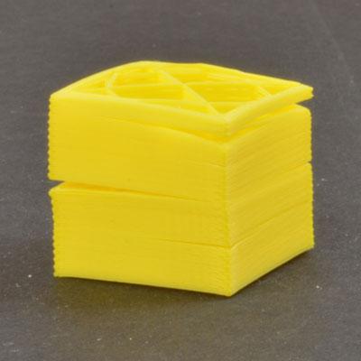 3Д печать расслаивается, не слипаются слои 3д принтера