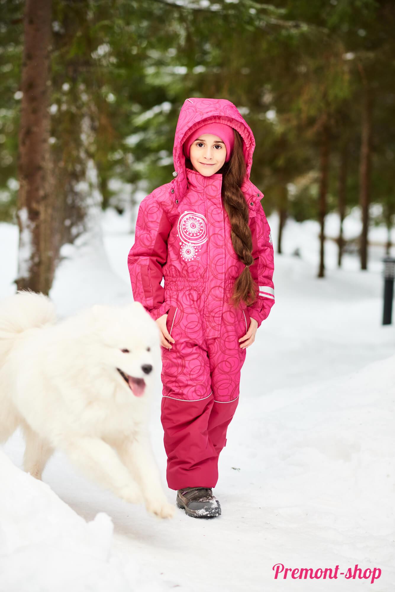 Зимний комбинезон Premont Каток Оттавы