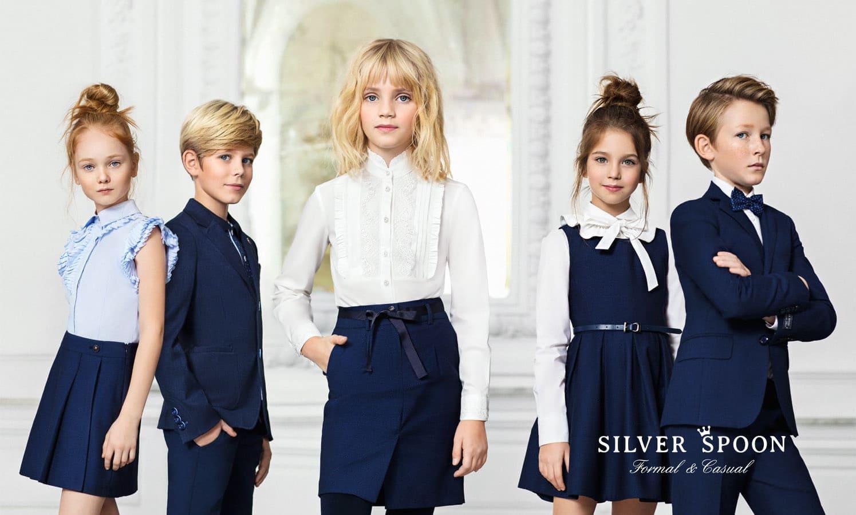 Красивая модная школьная коллекция девочке