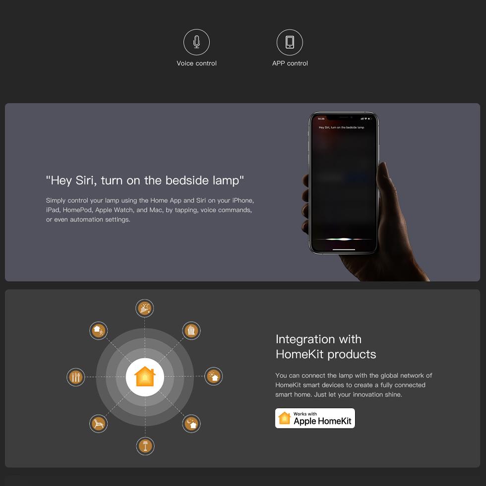 Прикроватная лампа Xiaomi Yeelight LED Bedside Lamp D2