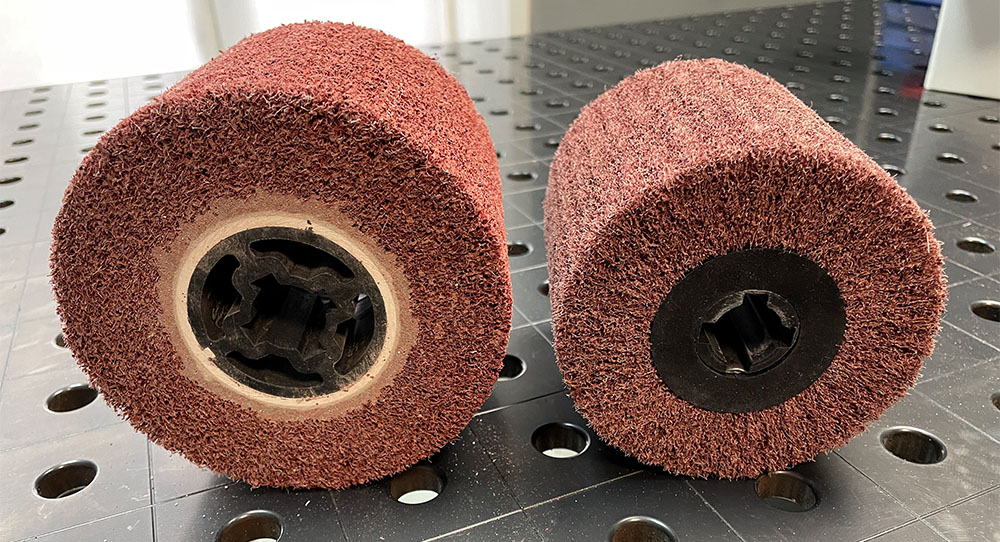 Шлифовальные валики бывают разного диаметра