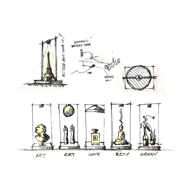 Светильник Curiosity от Artemide