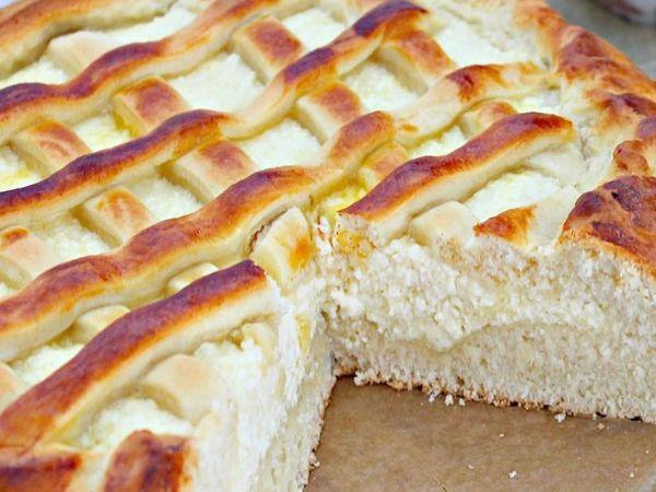 Творожный безглютеновый пирог