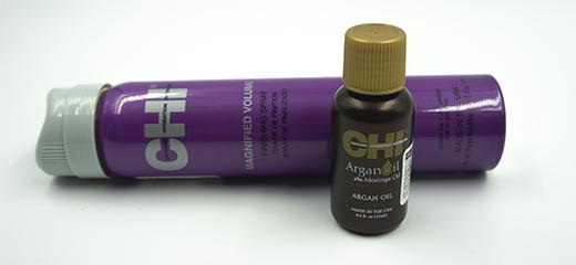 CHI Лак Усиленный объем и Масло Argan Oil