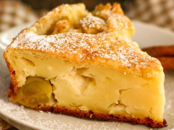 Творожный пирог без глютена и сахара