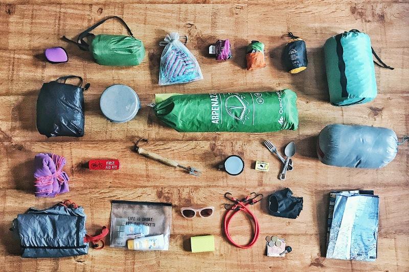 Вещи для велопохода