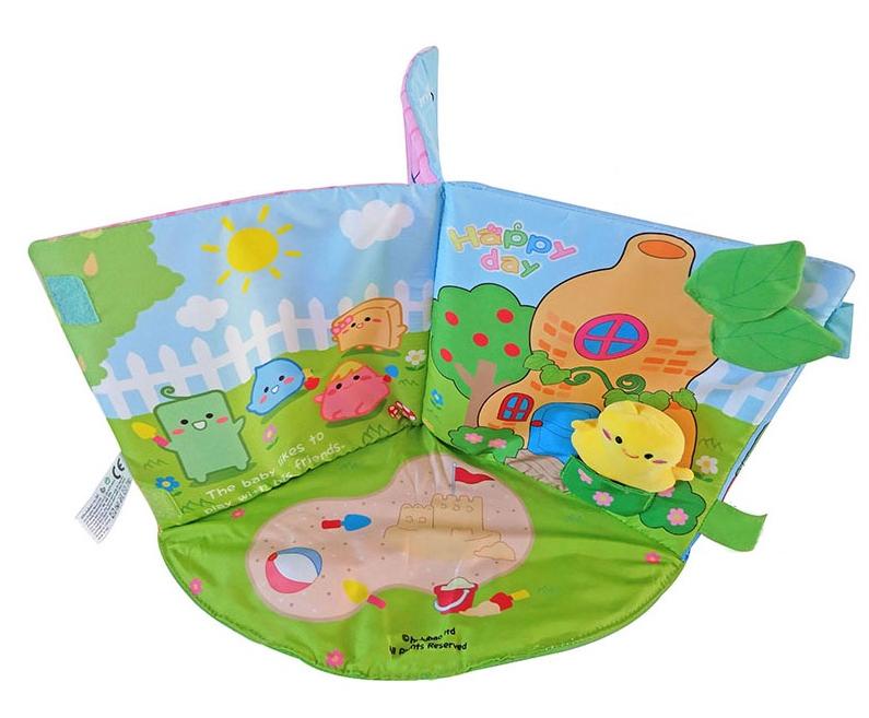 Книжка-игрушка Домик с цыпленком BABUTKA Babybuzz
