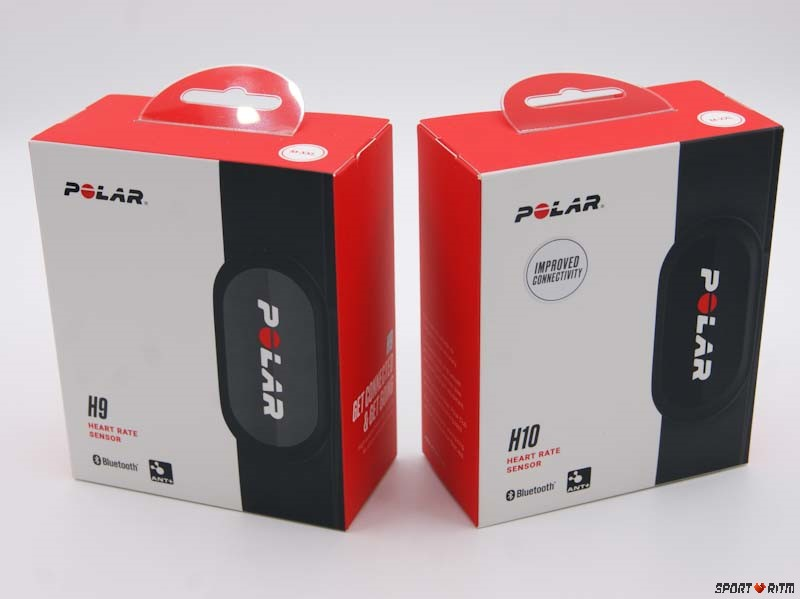 Упаковка Polar H9 и Polar H10