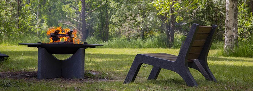 Мебель для костровых зон CONCRETIKA