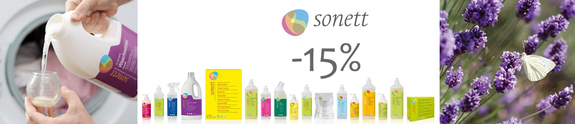 Осенью дешевле! Sonett -15%